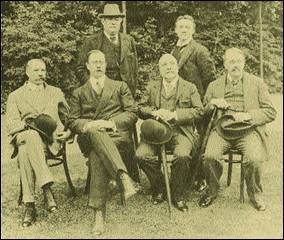 Stanford Parry Mackenzie German Elgar Godfrey in Bournemouth 1910
